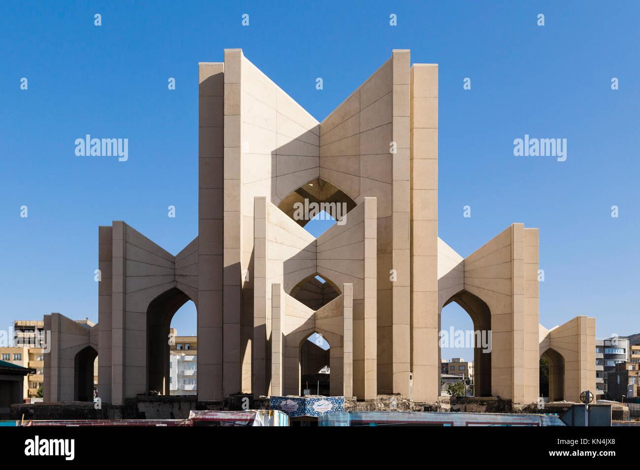 Poet's Mausoleum, Tabriz, Iran - Stock Image