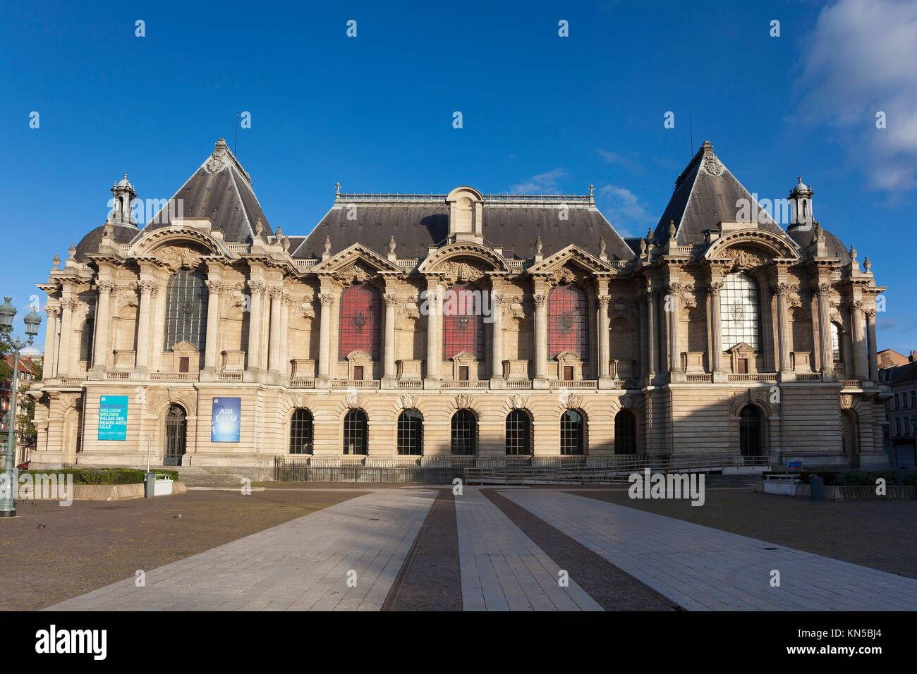 Museum of Fine Arts of Lille, Nord, Nord-Pas-de-Calais, France. - Stock Image