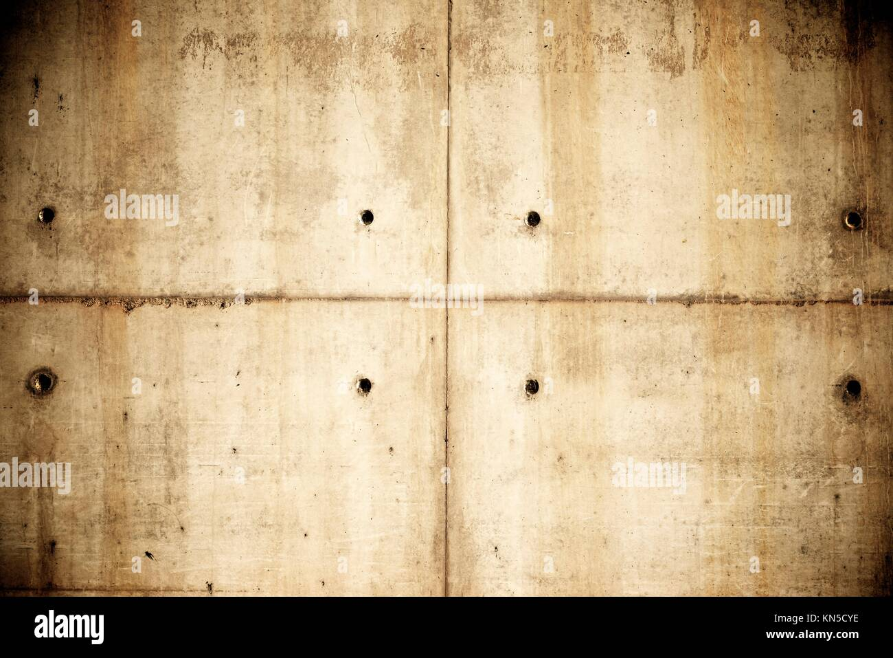 Concrete brown background in high resolution. - Stock Image