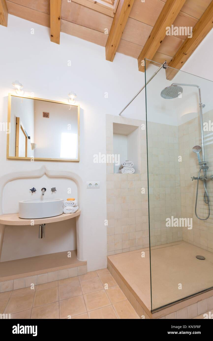 Spain Modern Bathroom Stock Photos & Spain Modern Bathroom Stock ...