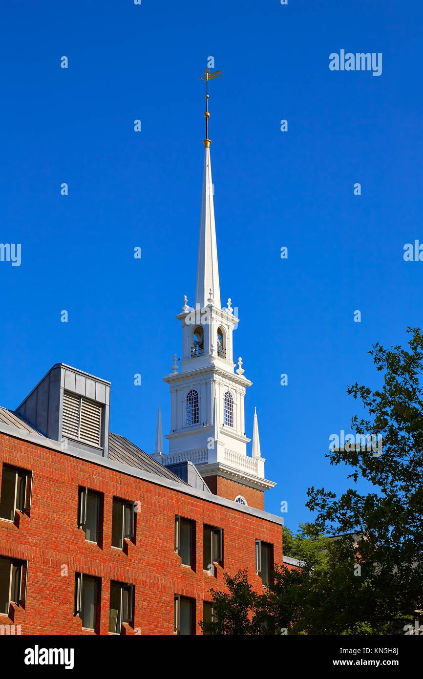 Harvard University in Cambridge Massachusetts USA. Stock Photo