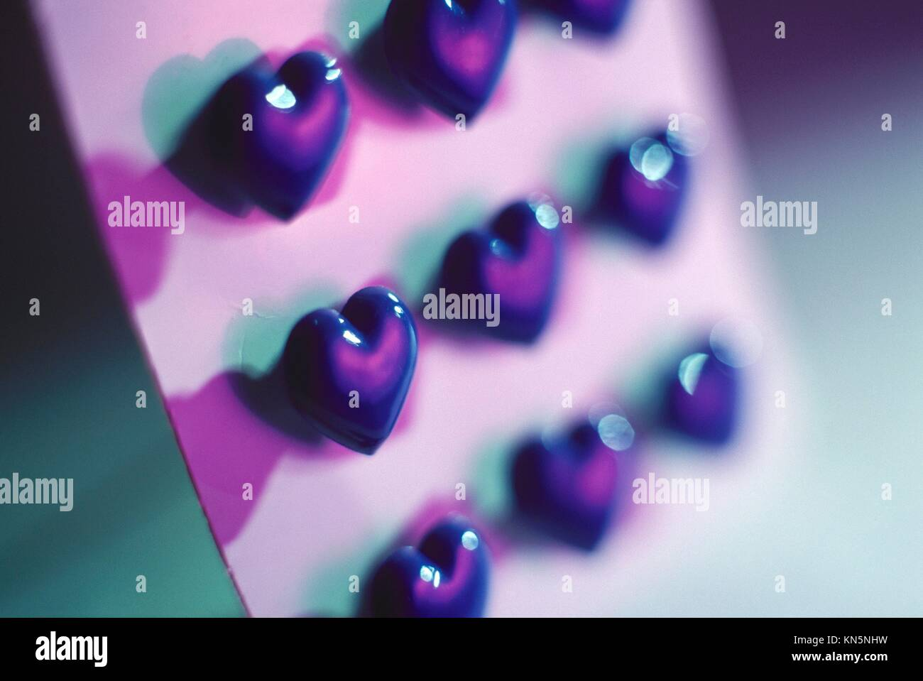 Heart shaped buttons Stock Photo: 167927813 - Alamy