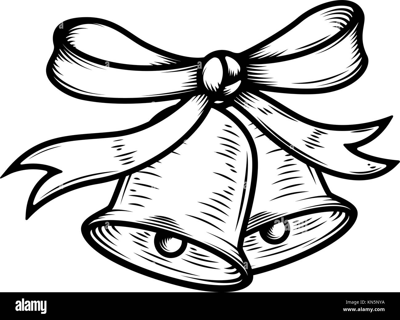 gold bow on black background stock vector images page 2 alamy Clear Background with Texture christmas bells illustration on white background design elements for poster card banner