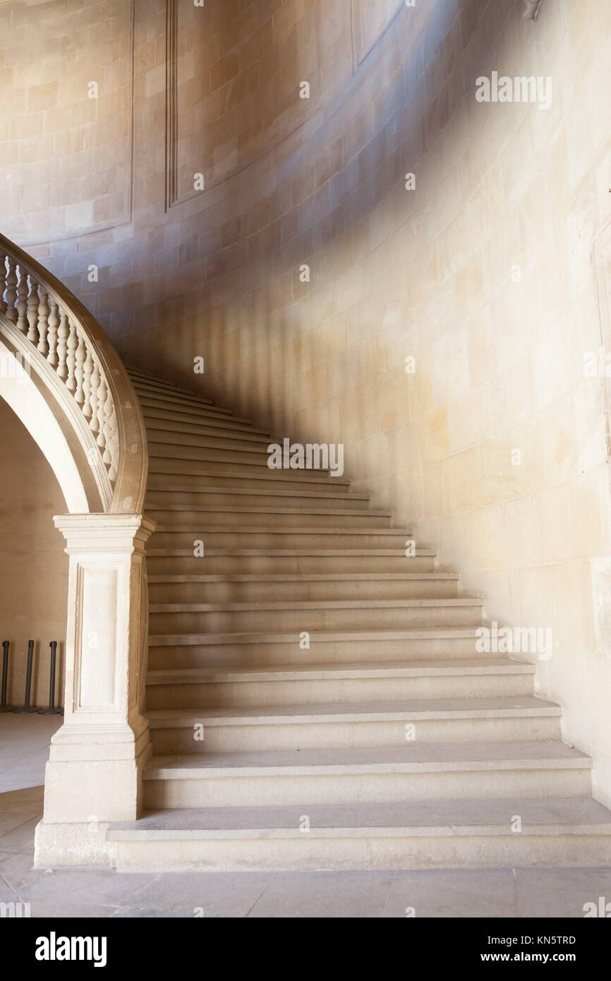 White Marble Staircase High Resolution Stock Photography And Images Alamy