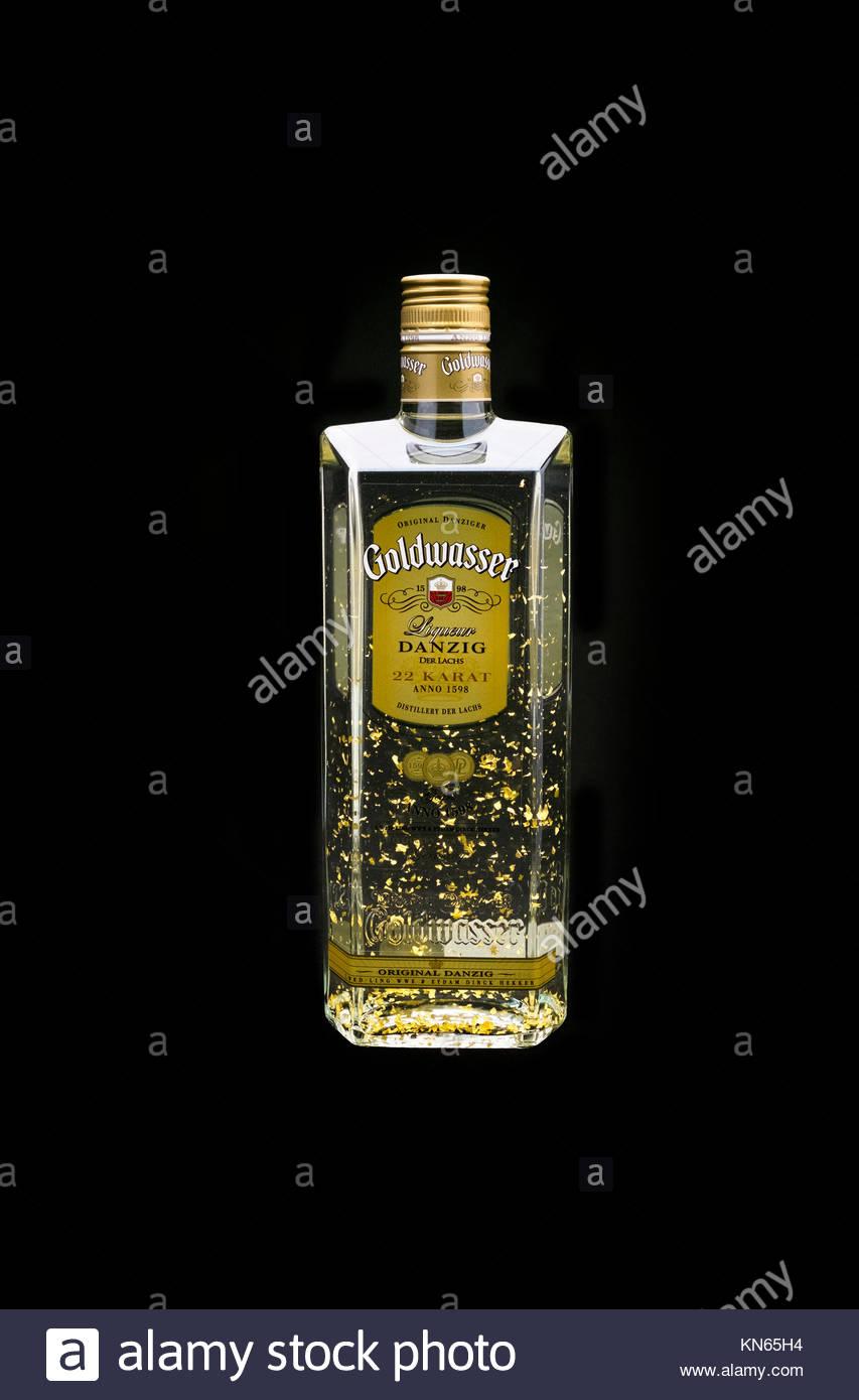 Original Danziger Goldwasser - Stock Image