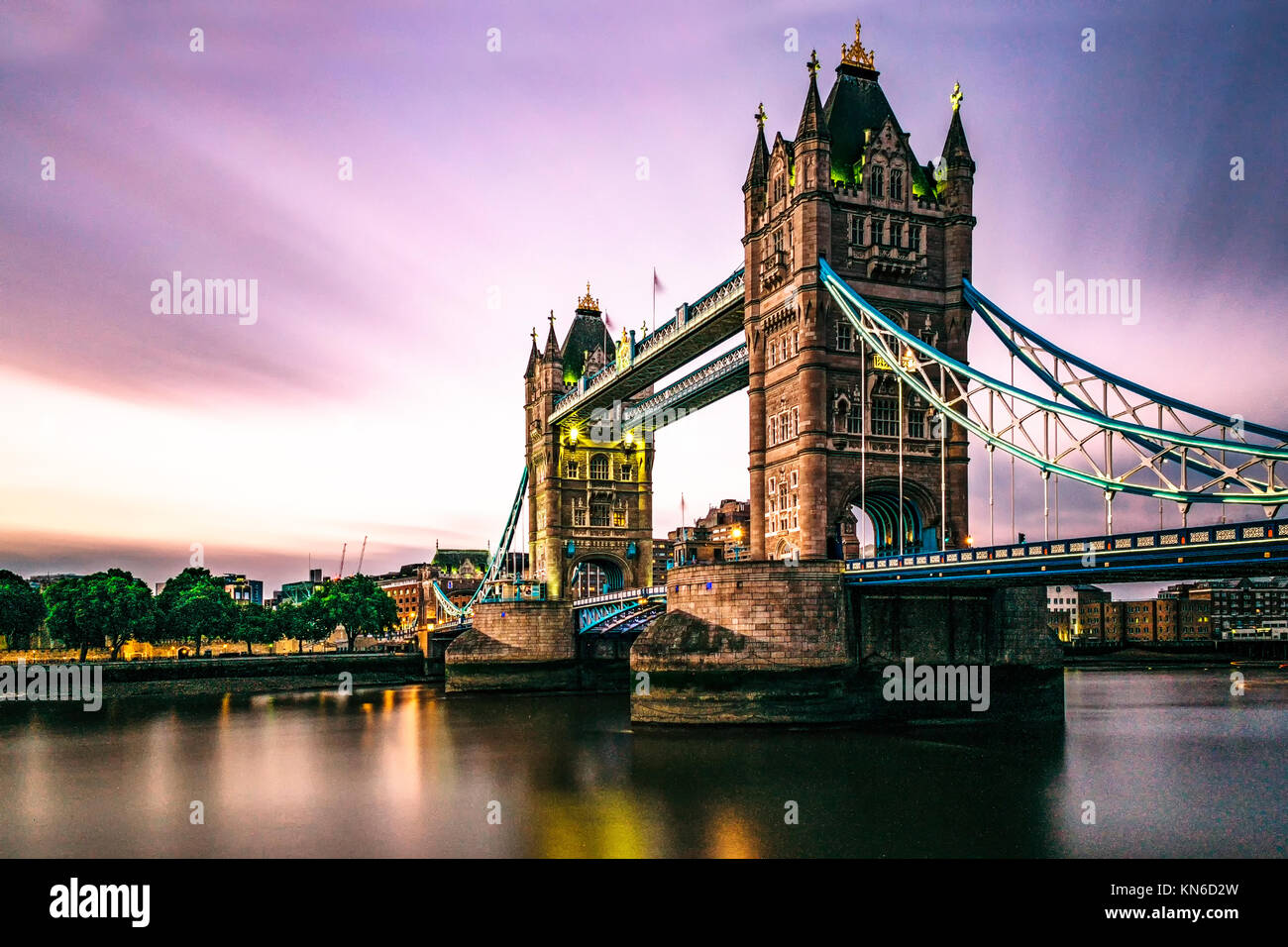 London Tower Bridge - Stock Image