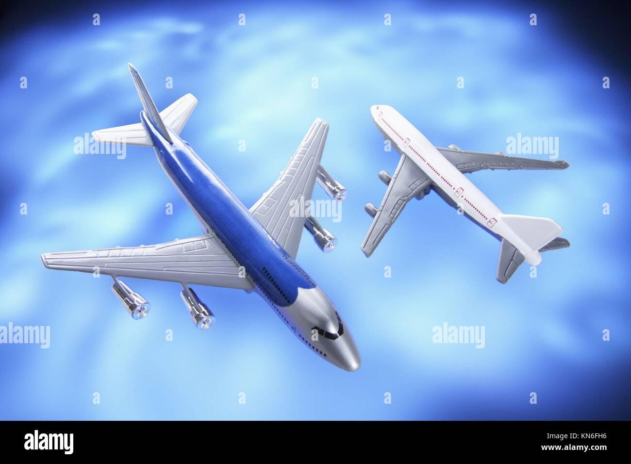 Model Planes. - Stock Image