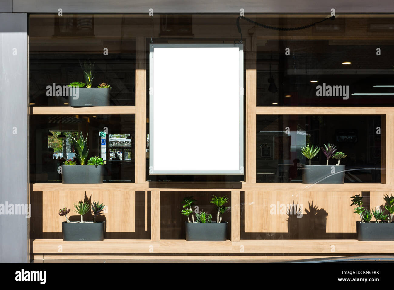 Blank Restaurant Sign Modern Contemporary Decoration ...