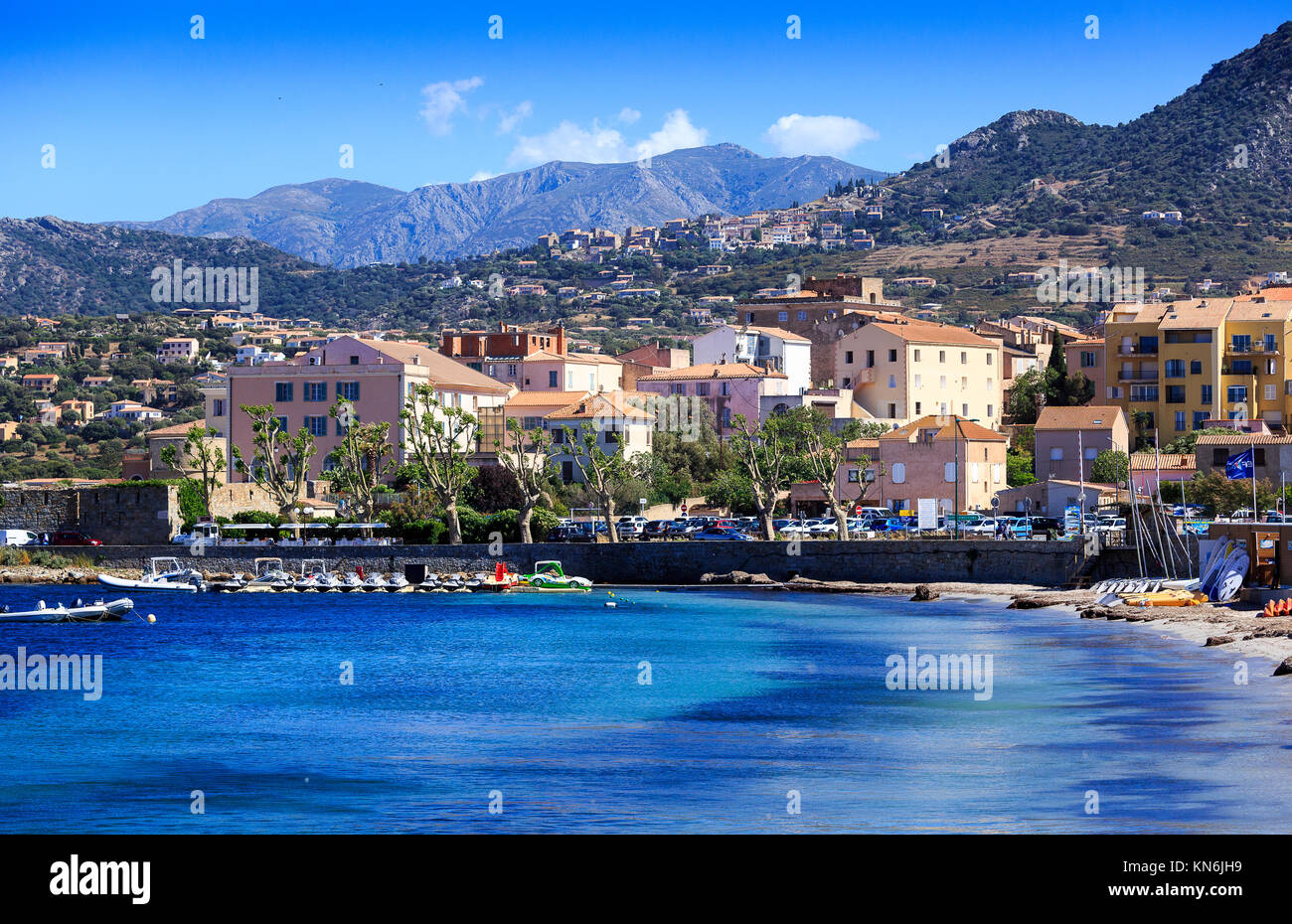 Ille Rousse, Corsica - Stock Image