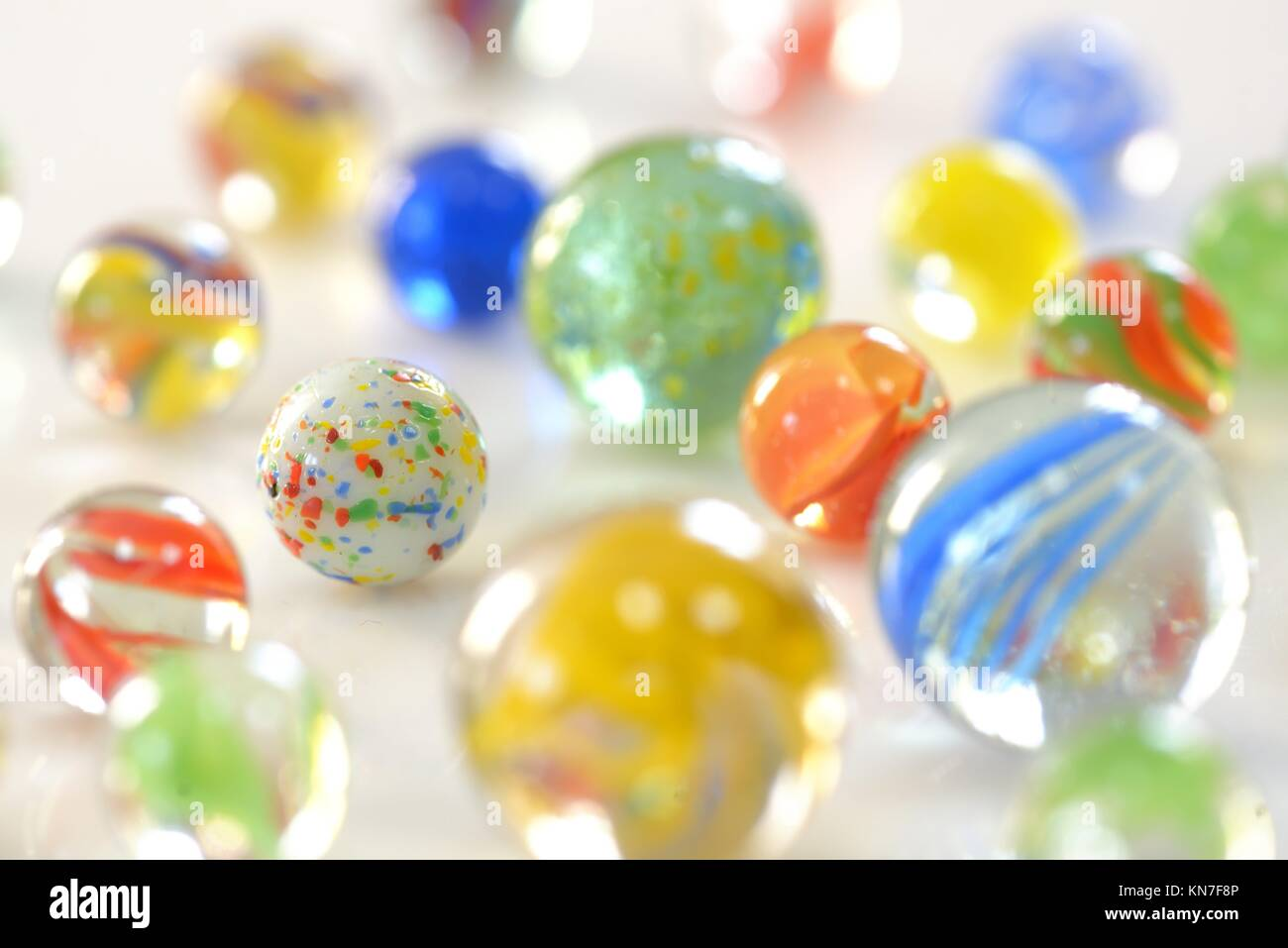 Details of different marble glass ball Stock Photo: 167966758 - Alamy