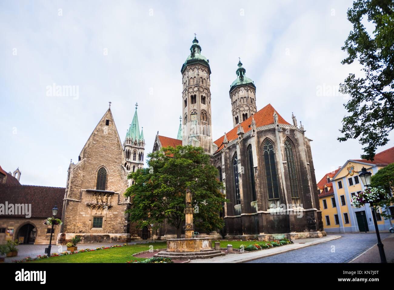 Naumburger Dom (Naumburg Cathedral), Naumburg an der Saale, Germany. Stock Photo