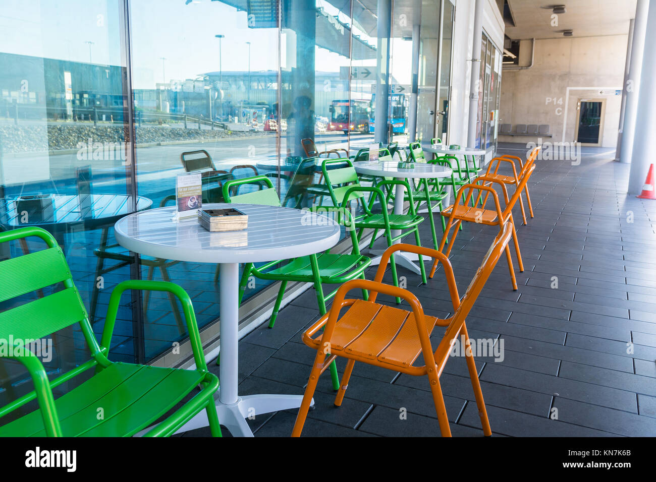 Cafe Restaurant Chairs Table Empty Waiting Gastronomy
