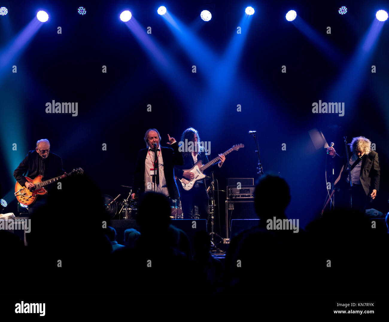 The pretty Things at the Edinburgh Blues 'N' Rock Festival in The Corn Exchange Edinburgh 2017 - Stock Image