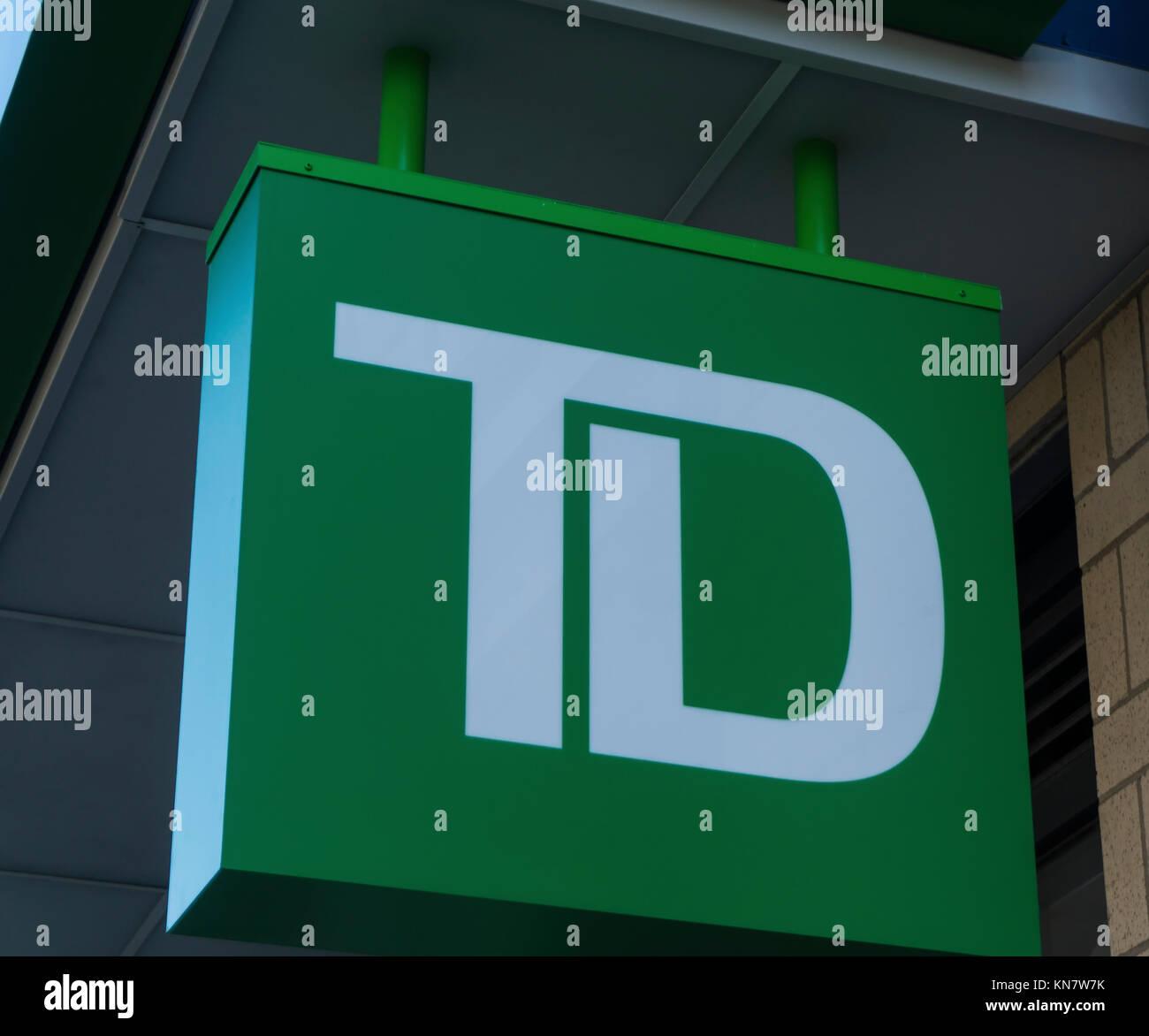 Td Bank Logo Stock Photos Td Bank Logo Stock Images Alamy
