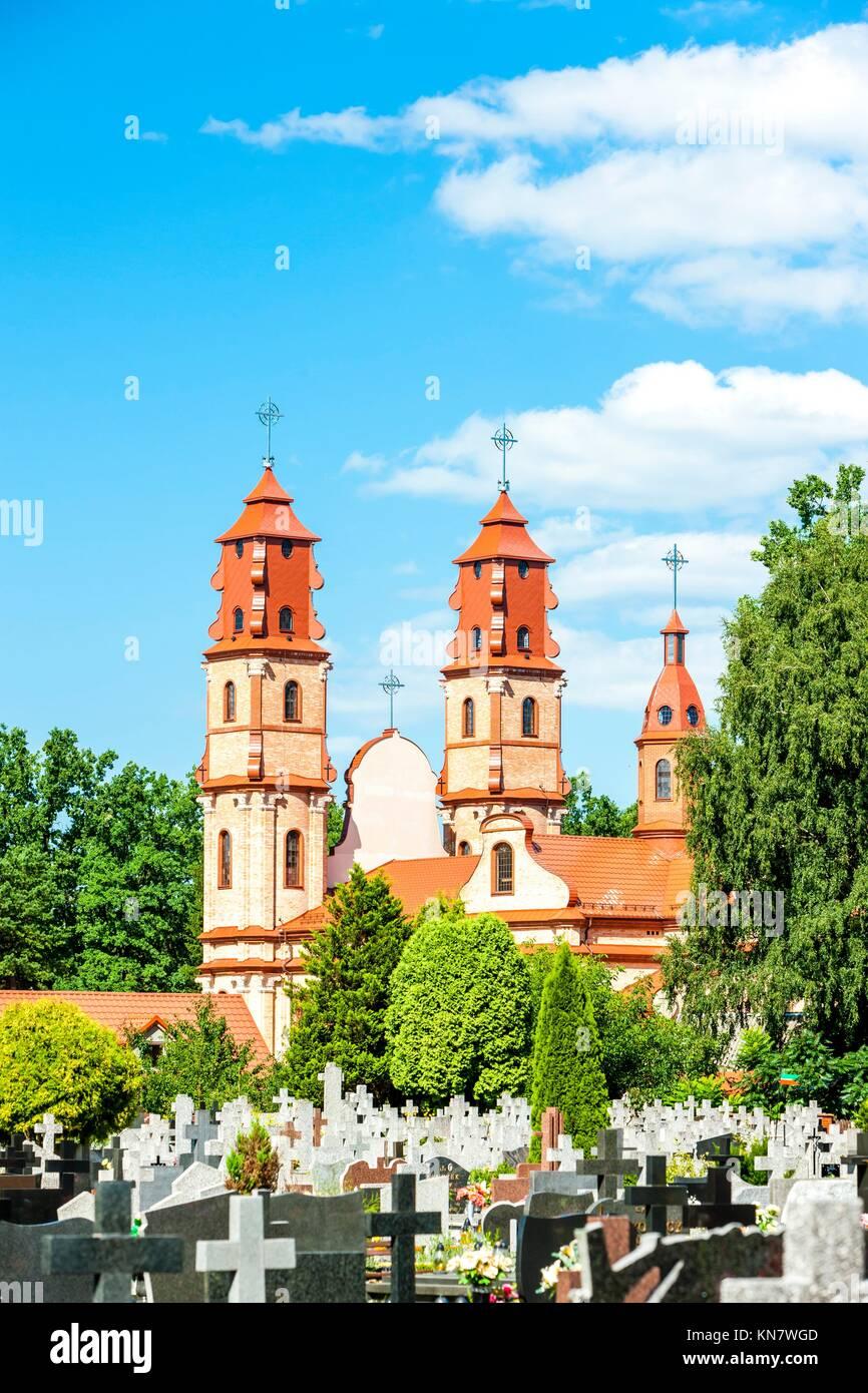 Hajnowka, Podlaskie Voivodeship, Poland. - Stock Image
