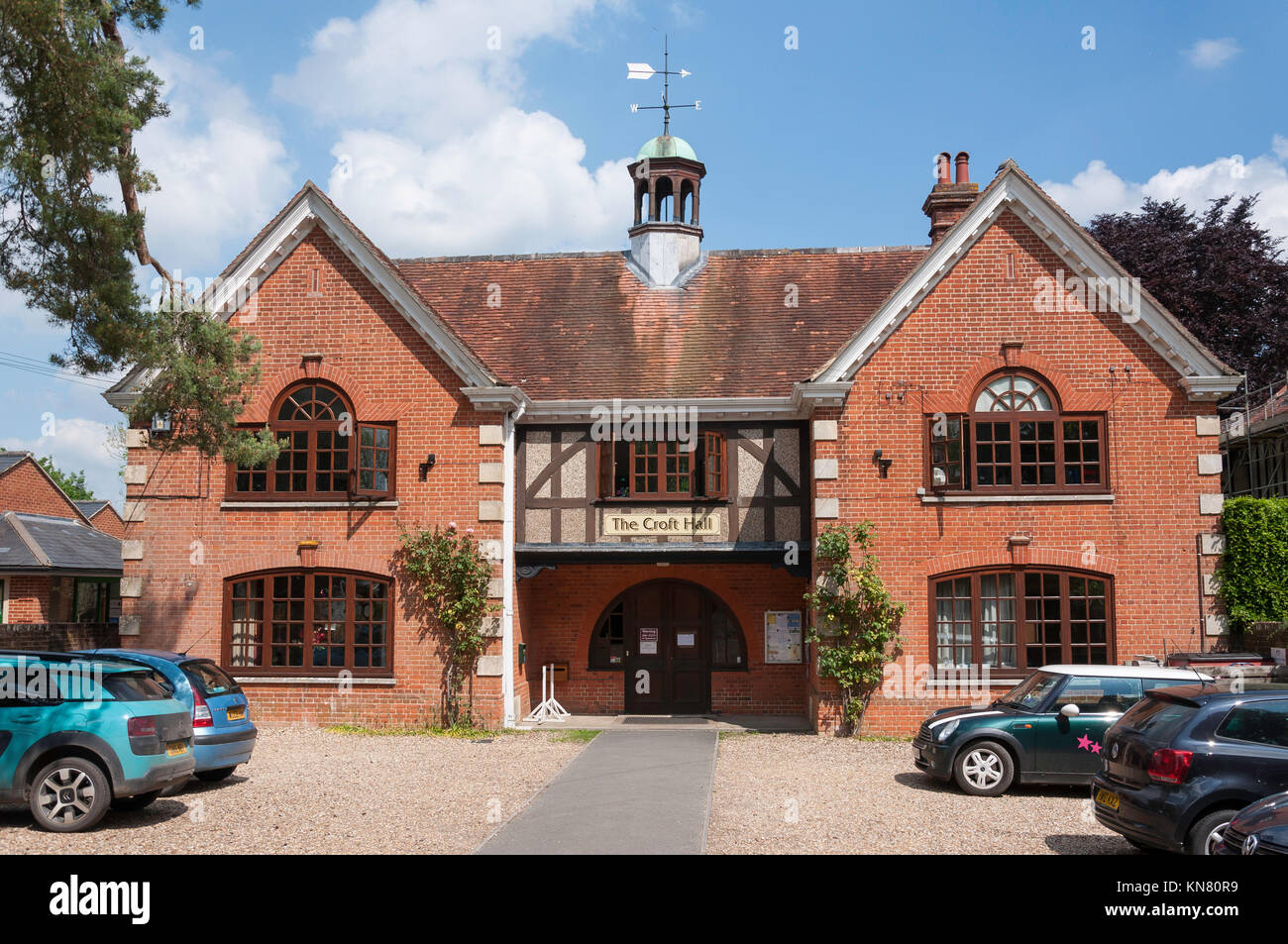 The Croft Hall, The Croft, Hungerford, Berkshire, England, United Kingdom - Stock Image
