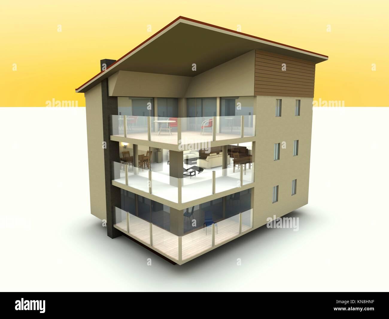 3d rendered illustration stock image