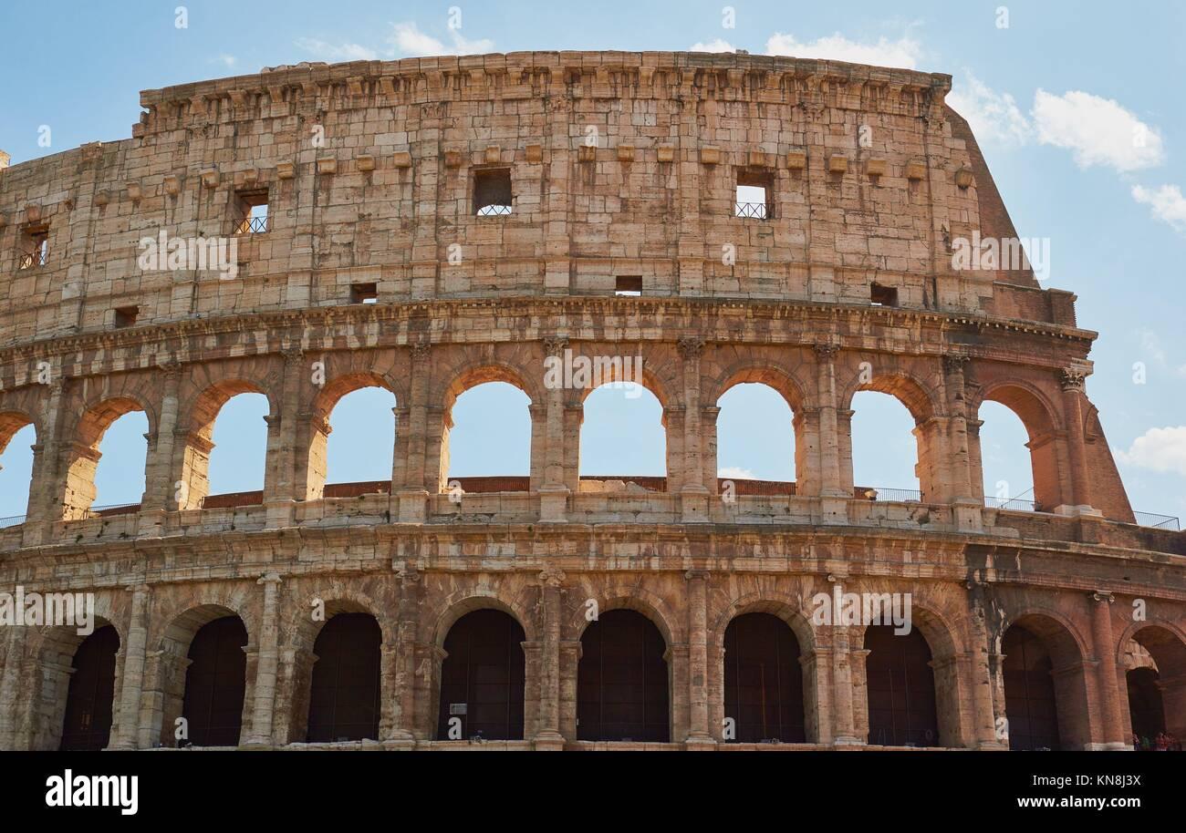The Colosseum, Rome, Lazio, Italy, Europe. - Stock Image