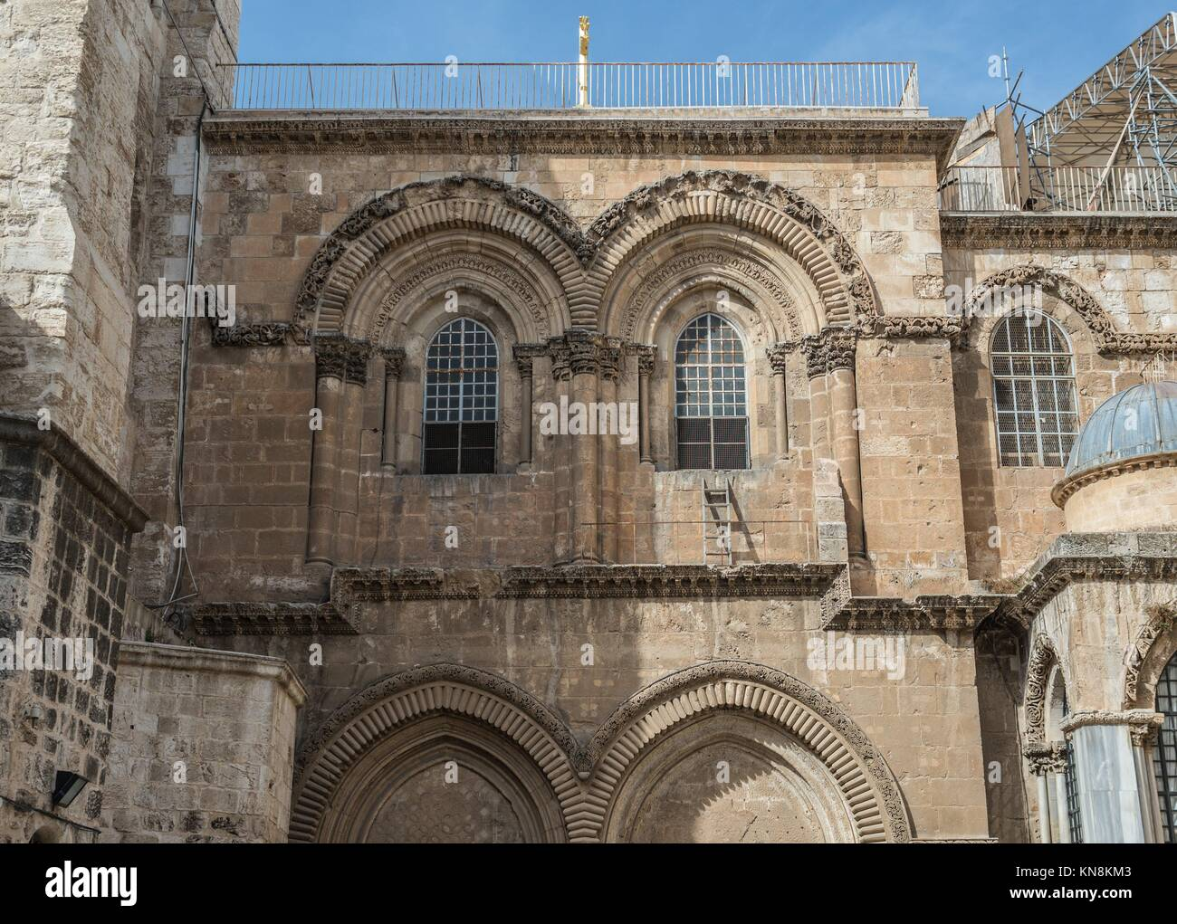 Church of the Holy Sepulchre in Jerusalem, Israel. Stock Photo