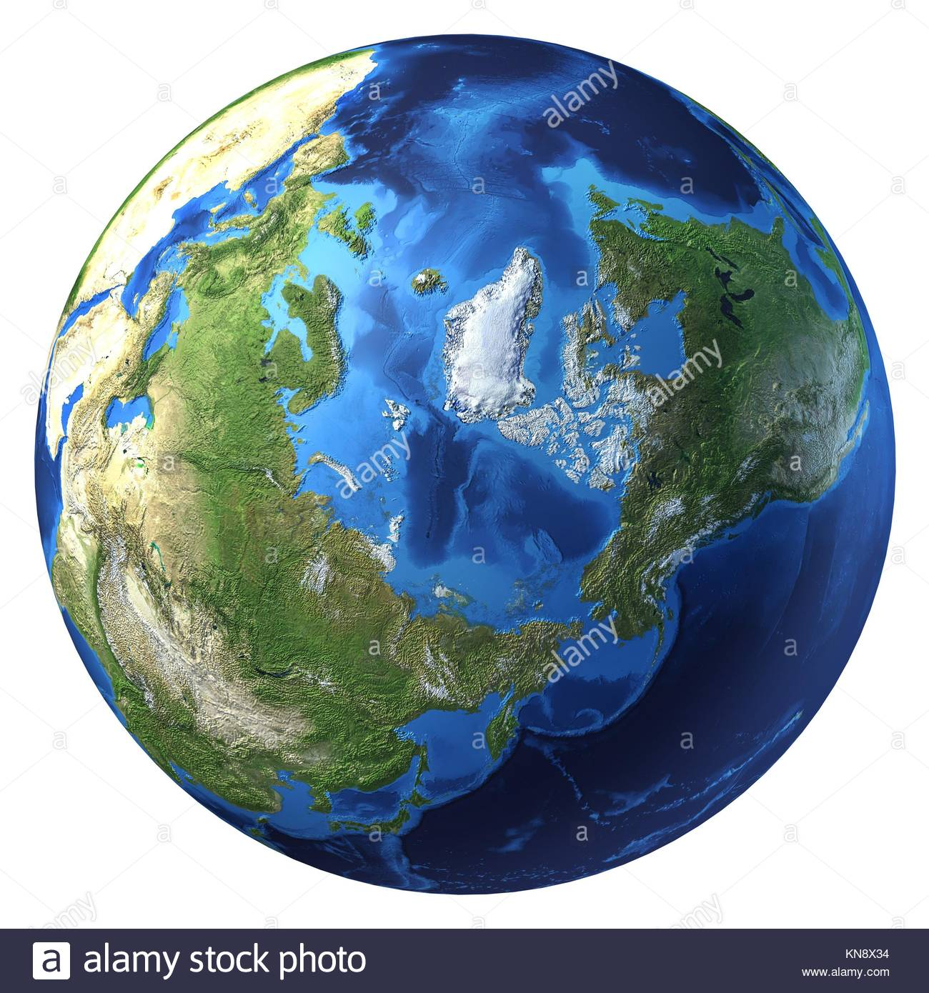 Arctic Circle On World Map.Globe Map Arctic Circle Stock Photos Globe Map Arctic Circle Stock