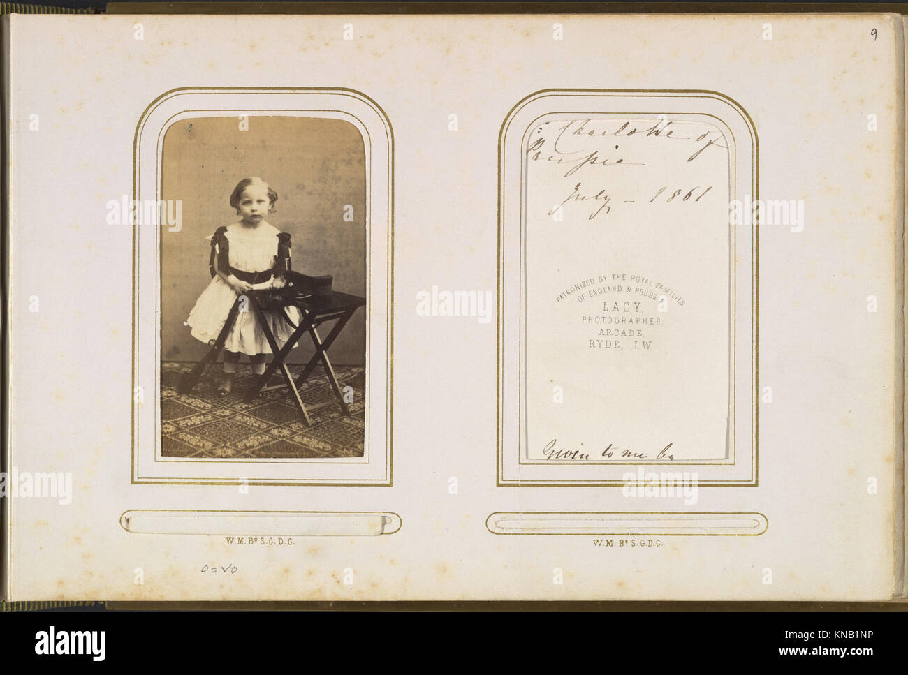 Carte De Visite Album Of British And European Royalty MET DP333834 271509