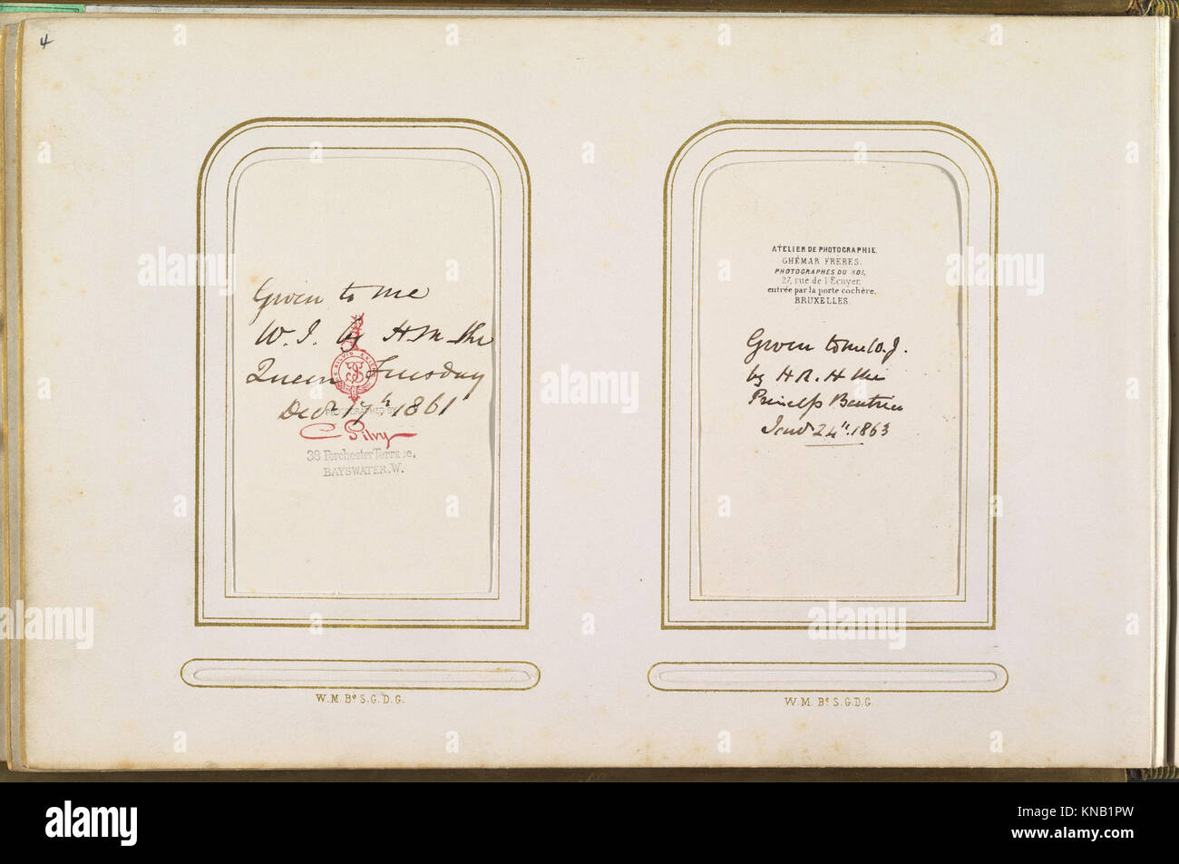 Carte De Visite Album Of British And European Royalty MET DP333829 271509