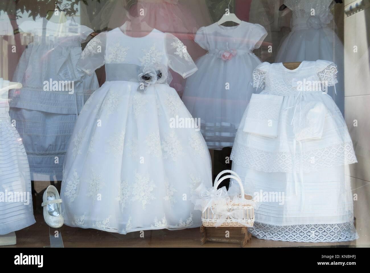 Dresses Shop Window Stock Photos & Dresses Shop Window Stock Images ...