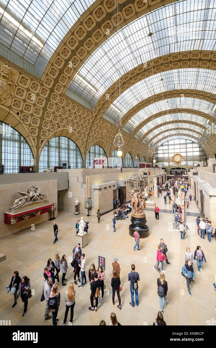Orsay Museum, Paris, France,Western Europe. - Stock Image