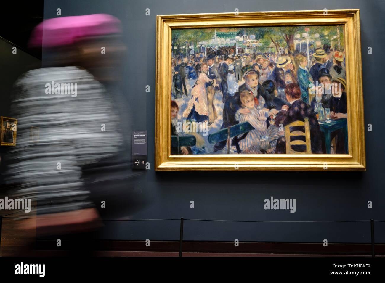 Orsay Museum, Paris, France,Western Europe. - Stock Image