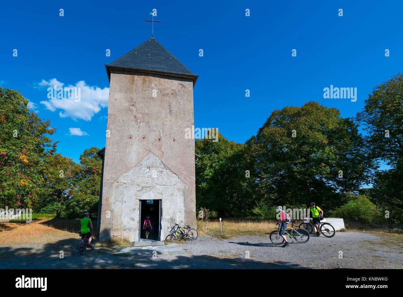 Deserted Village of Wollseifen, Eifel National Park, North Eifel Territory, Eifel Region, Germany, Europe. - Stock Image