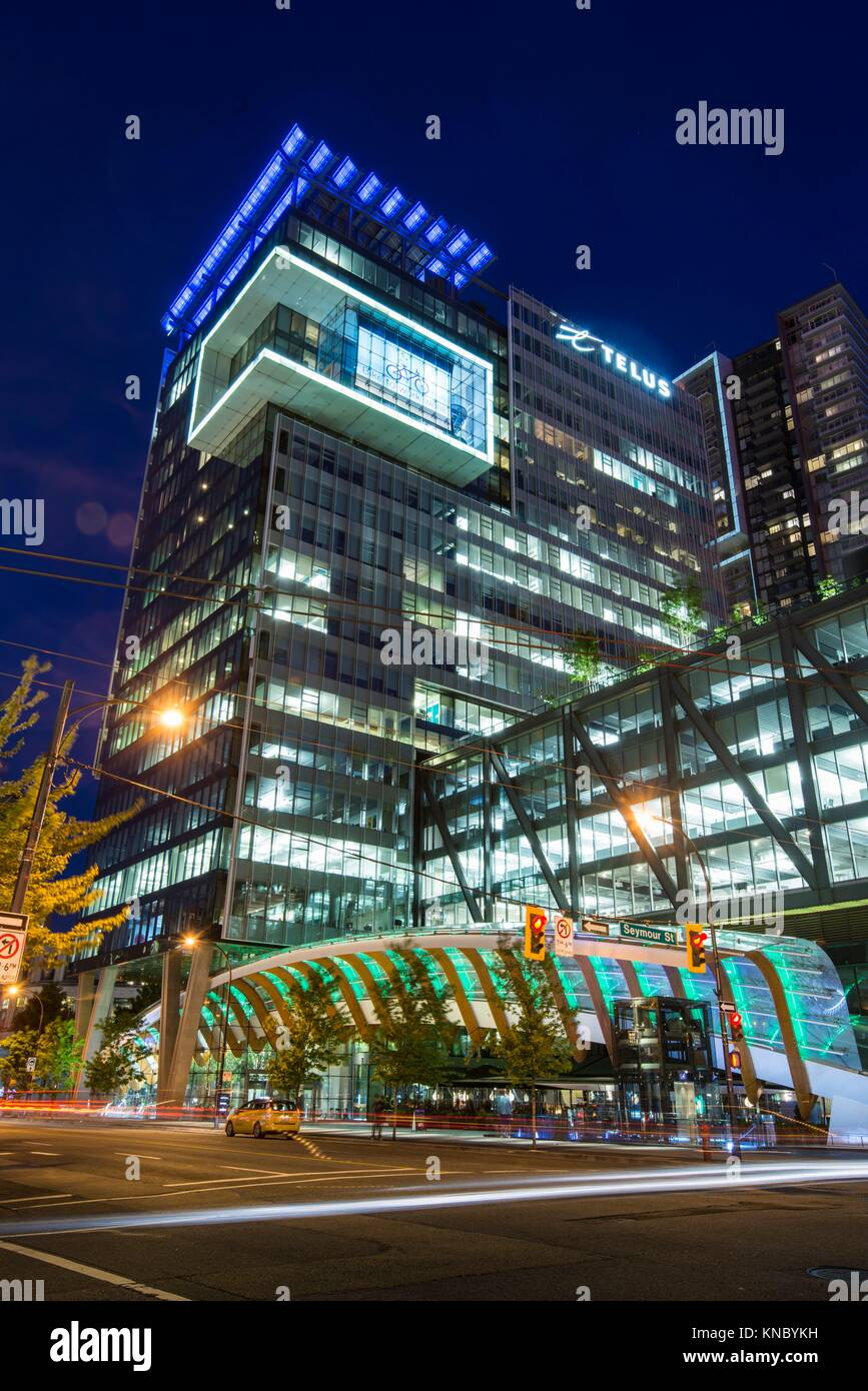 Telus Garden Building Downtown Vancouver Bc Canada Stock Photo Alamy