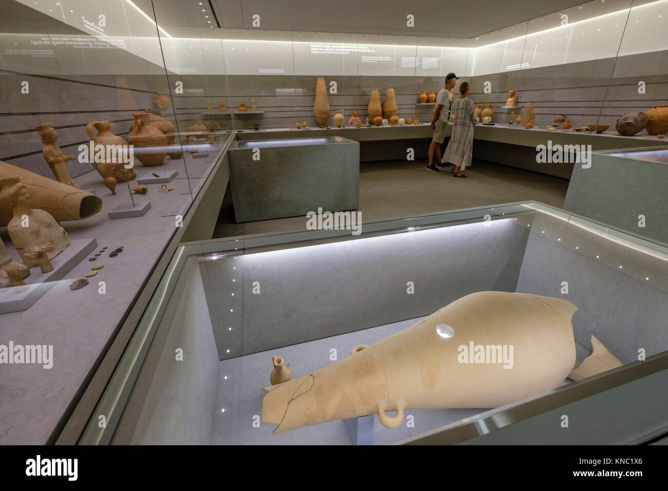 Ibiza and Formentera Archeological Museum, Patrimonio de la Humanidad «Ibiza, biodiversidad y cultura», - Stock Image