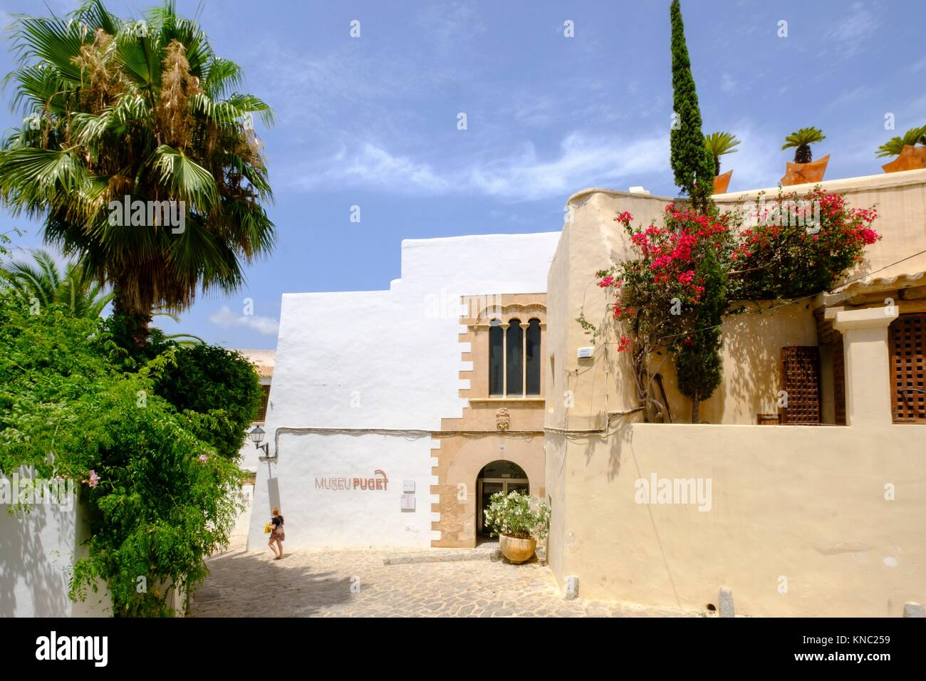 Puget Museum, Can Comasema, casa del siglo XV, Ibiza, Balearic Islands, Spain. Stock Photo