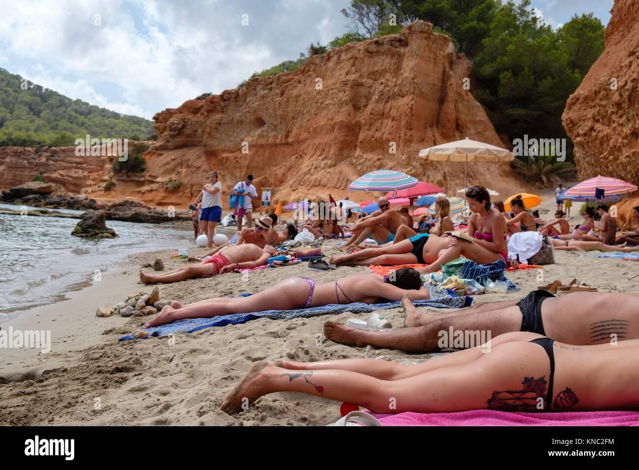 Sa Caleta, Es Bol Nou, Ibiza, Balearic Islands, Spain. Stock Photo