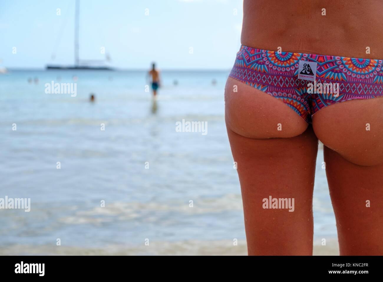Sa Caleta, Es Bol Nou, Ibiza, Balearic Islands, Spain. - Stock Image