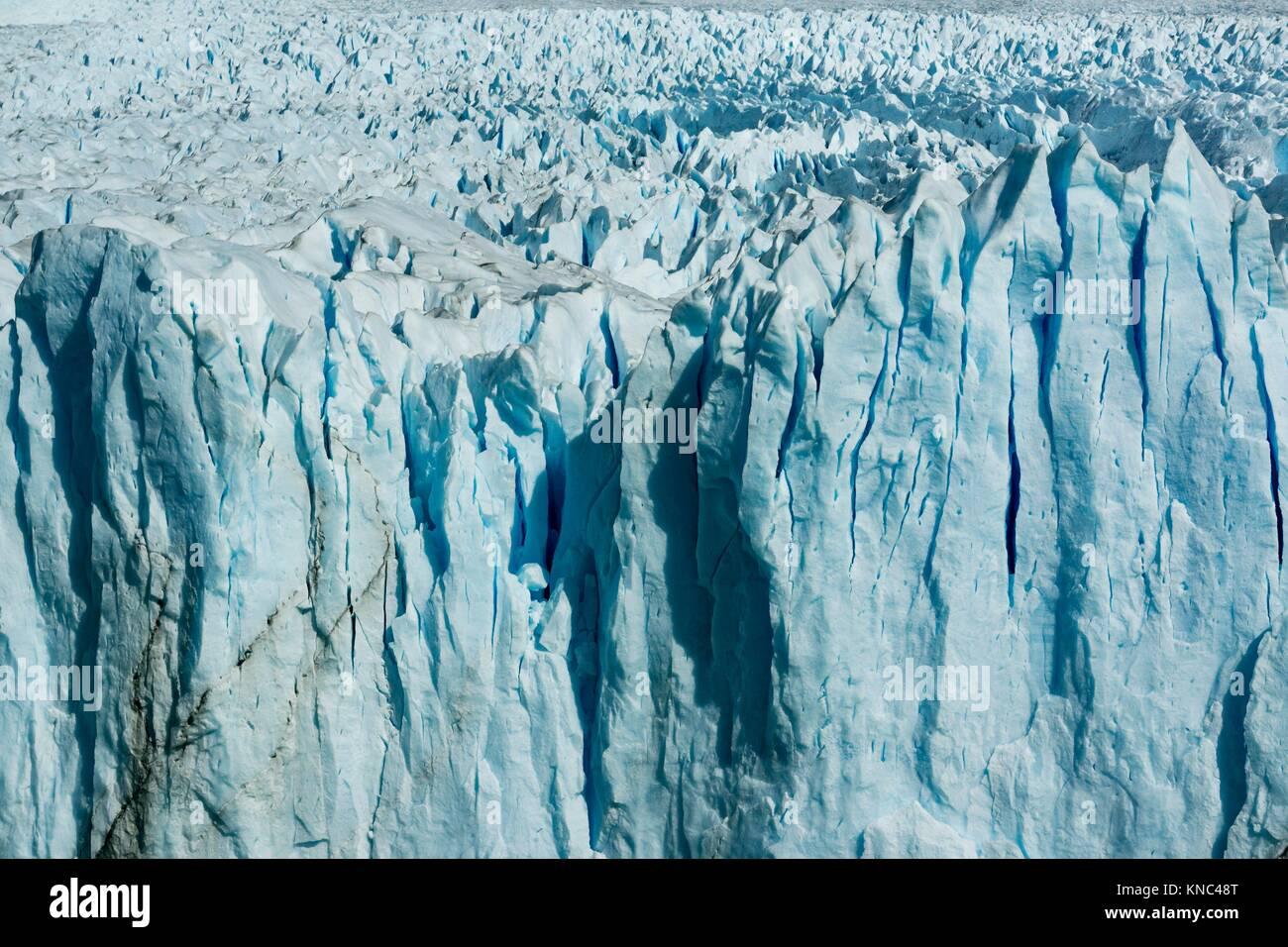 glaciar Perito Moreno, Parque Nacional Los Glaciares, departamento Lago Argentino, provincia de Santa Cruz, Patagonia, Stock Photo