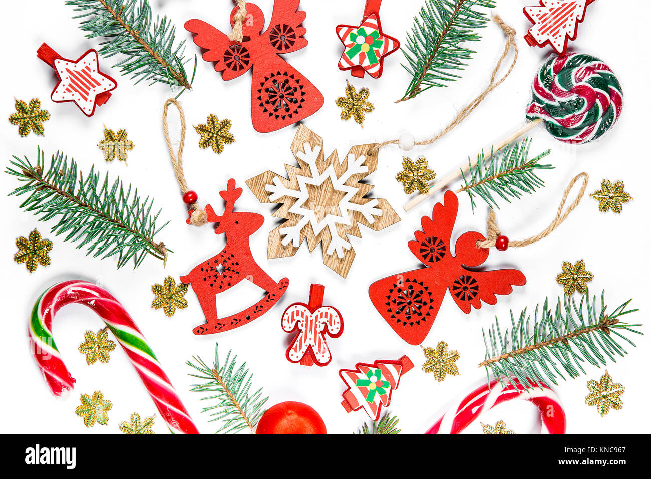 Christmas Disco Clipart.Christmas Background With Gifts Candy New Year Decorations
