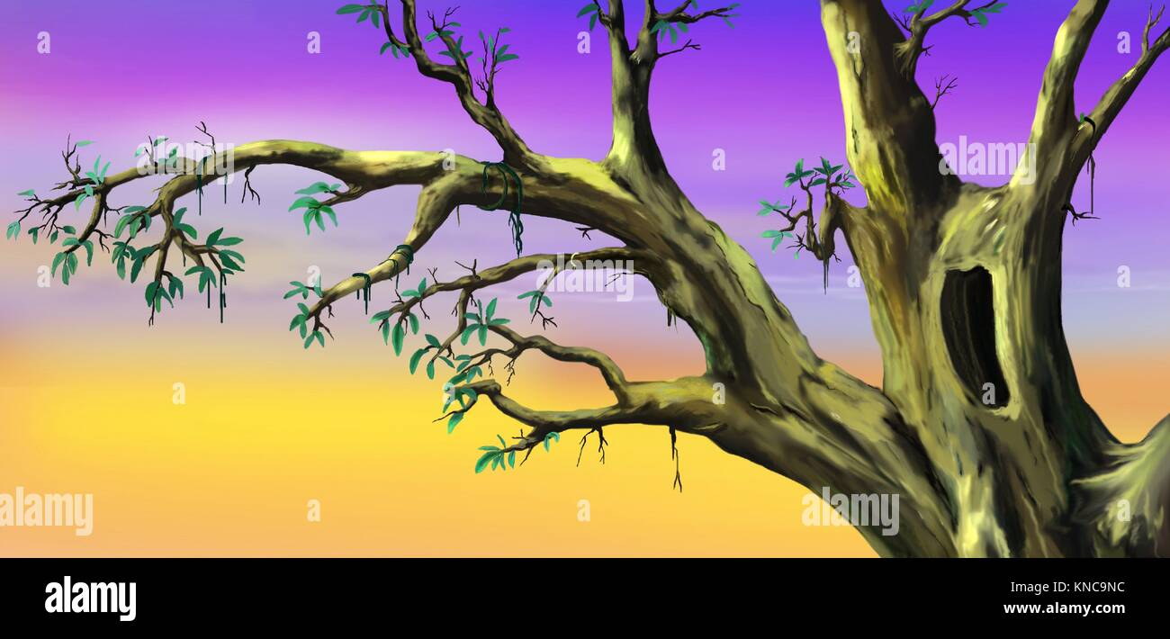 How To Paint A Tree Digital Art