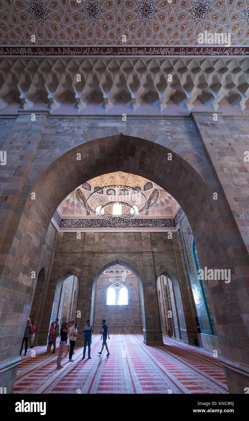 Juma Mosque, Shamakhi Town, Azerbaijan, Middle East. - Stock Image