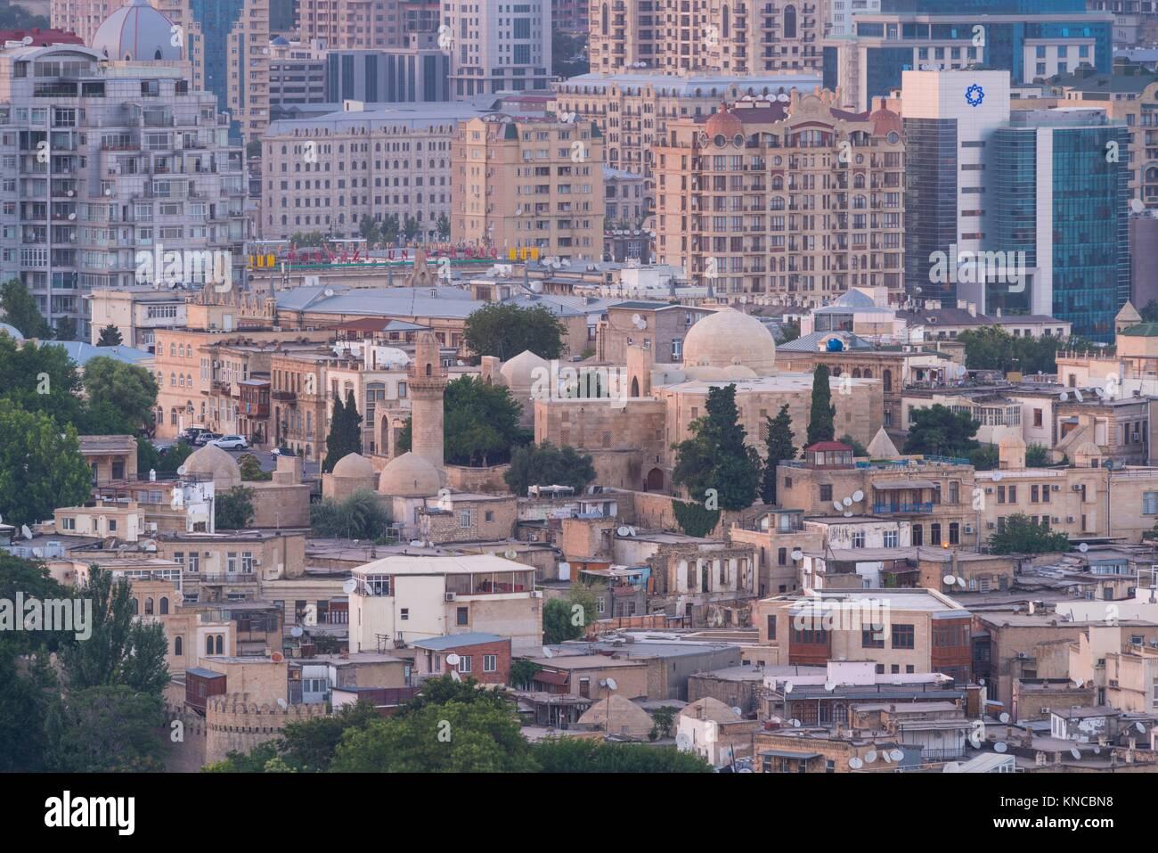 Baku City, Old City, Azerbaijan, Middle East. - Stock Image