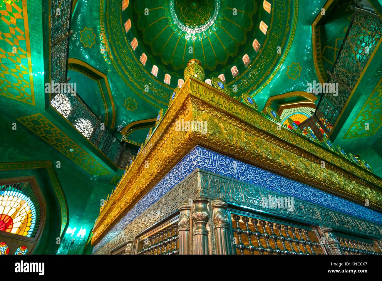 Bibi-Heybat Mosque, Baku City, Azerbaijan, Middle East. - Stock Image