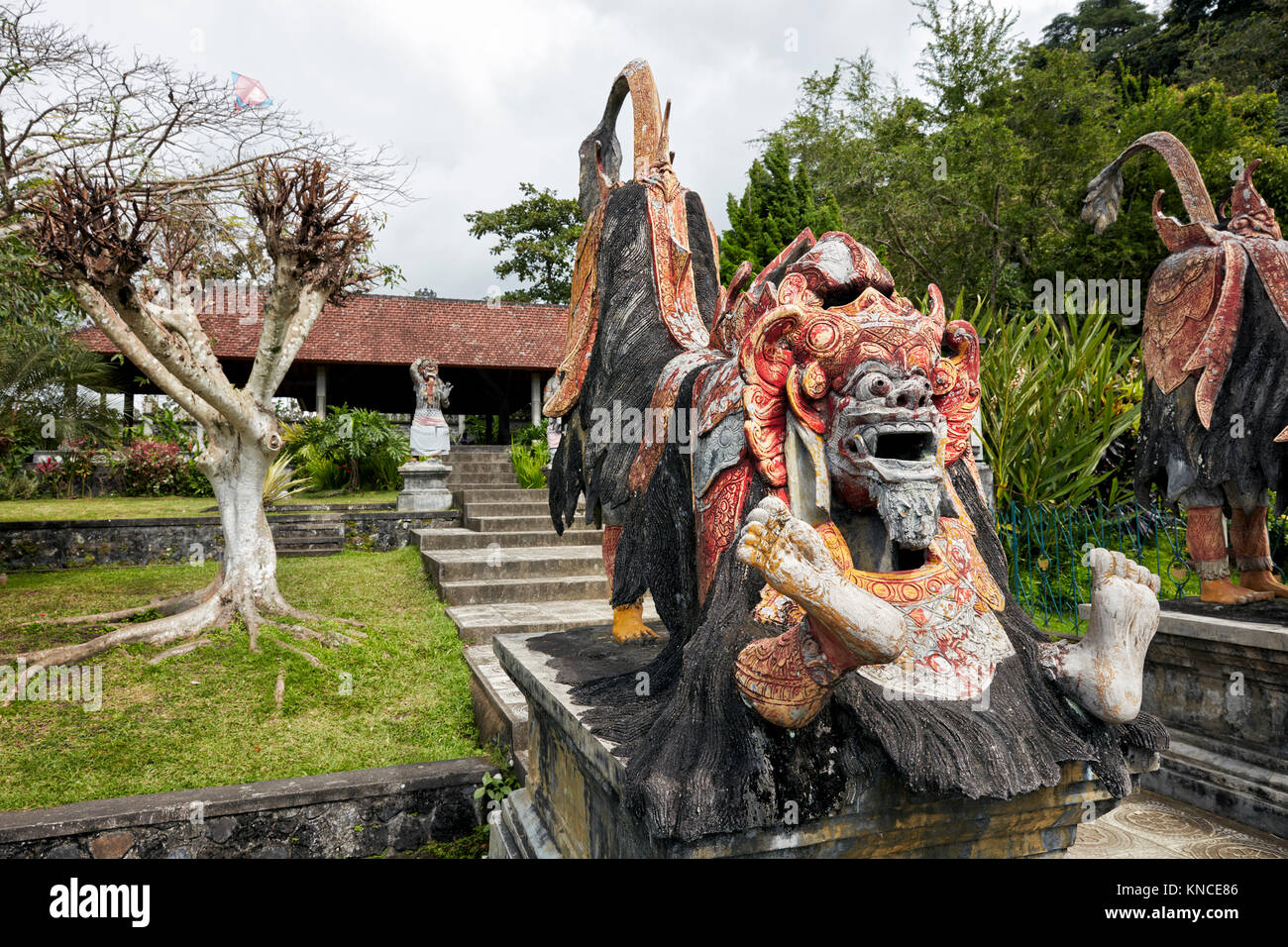 Tirta Gangga Royal Water Garden: Mythological Creature Stock Photos & Mythological Creature