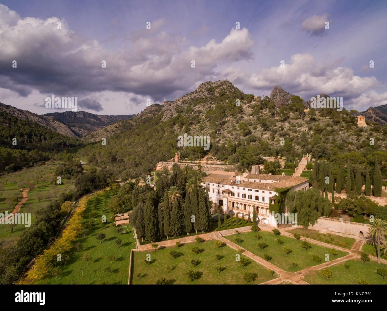 Raixa, possession of Arab origin, Bunyola municipality, Mallorca, Balearic Islands, Spain. - Stock Image
