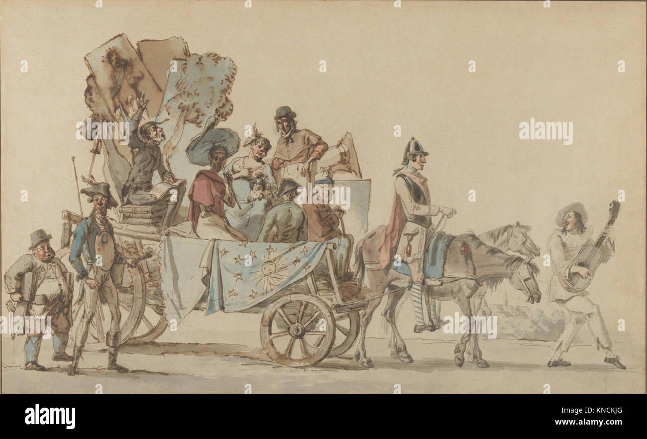 Artistes dramatiques en voyage MET DP852593 689637 - Stock Image