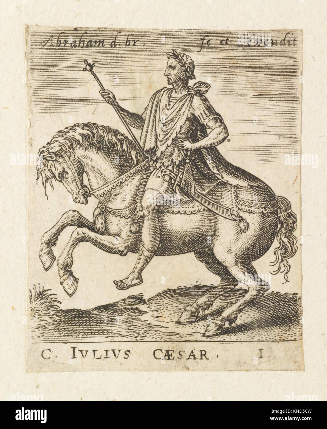 C. Julius Caesar from Twelve Caesars on Horseback MET DP-1340-001 732433 Stock Photo