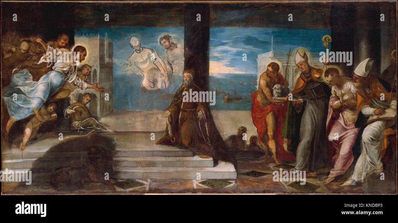 Doge Alvise Mocenigo (1507 1577) Presented to the Redeemer MET DT216453 437819 Stock Photo