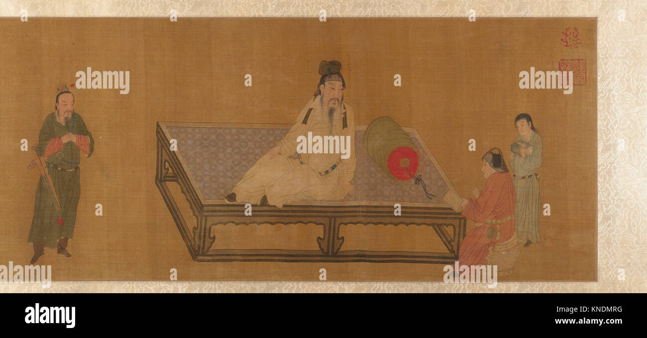 Instruction. Artist: Unidentified Artist; Artist: Formerly Attributed to Emperor Huizong (Chinese, 1082-1135; r. - Stock Image