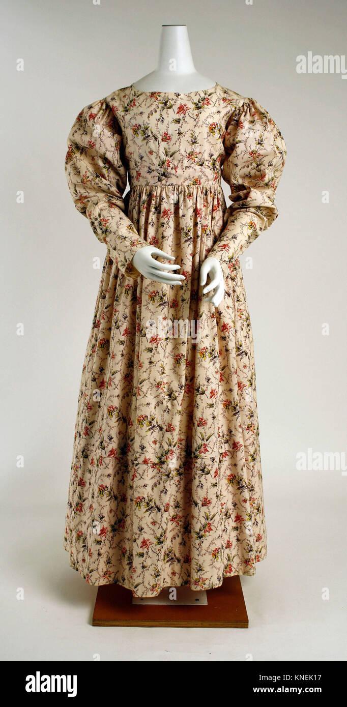 Morning Dress Date Mid1820s Culture British Medium Cotton: 1820s Wedding Dress Box At Websimilar.org