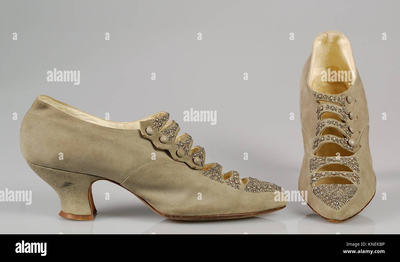 Dinner shoes. Manufacturer: A.E. Little & Co. (American
