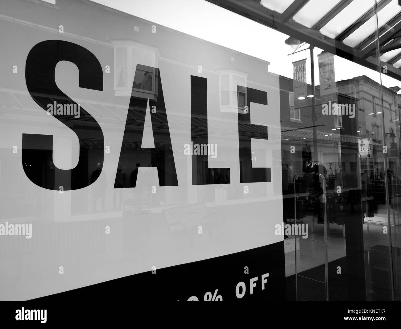 Window Display Ladies Fashion Clothing Stock Photos